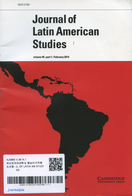 Journal of Latin American Studies Vol.46 part 1: February 2014