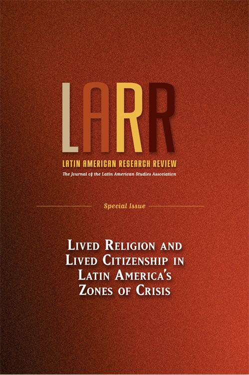 Latin American Research Review Vol.49 Special Issue 2014
