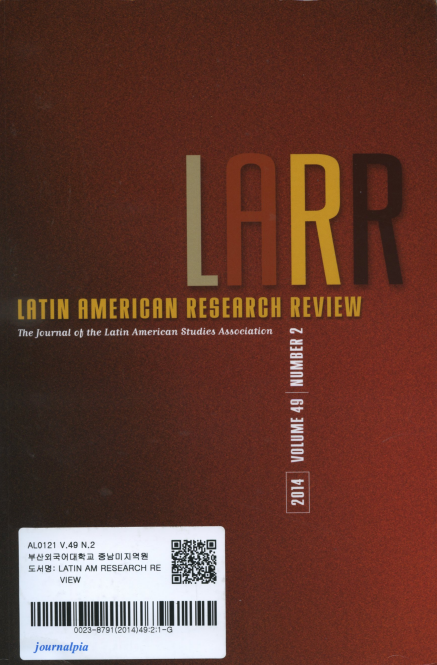 Latin American Research Review Vol. 49 No. 2
